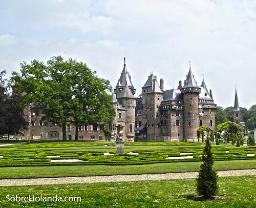 Haar Castle Jardines