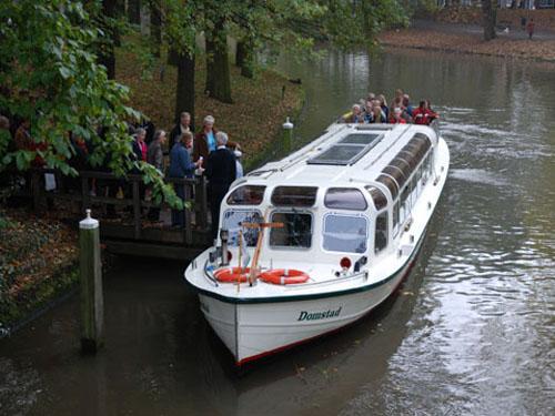 cruceros por los canales de Utretch