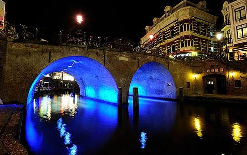 Trajectum Lumen, paseo nocturno y con muchas luces